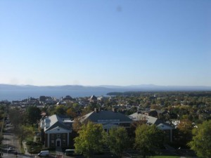 Nazomerweer in Burlington, Vermont, 20 oktober (bron: Eric Fisher).
