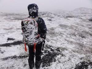Sneeuwval op 2 juli in Nuuk, hoofdstad Groenland (bron: Lone Godske/NIRAS)