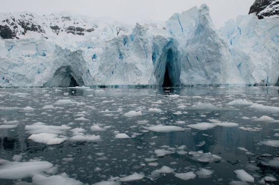 Nog meer schitterend ijs (alle foto's: Pieter Bliek).