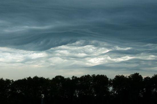 Fraaie wolkenluchten