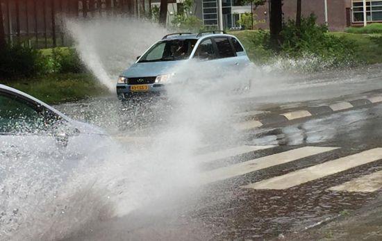 Wateroverlast in Drachten
