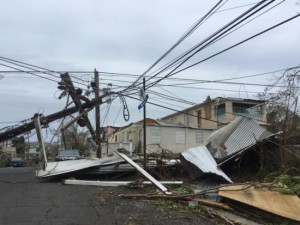 St.Croix is zwaar getroffen door Maria