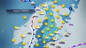 Vanmiddag in Finland (bron: via Matti Huutonen).